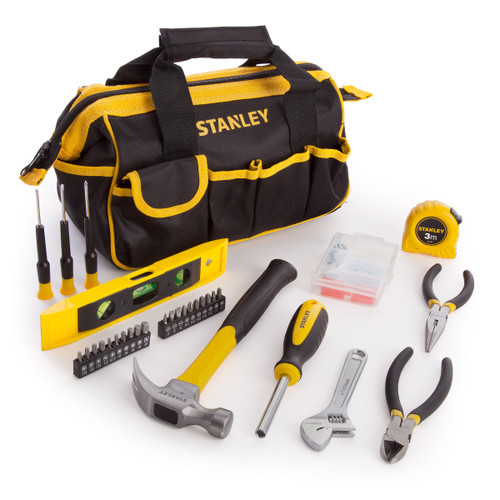 Stanley STHT0-75947 Home Tool Kit 30 Piece with 100 Fixings - 2