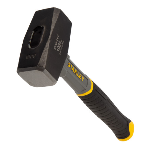 Stanley STHT0-54126 Club Hammer with Fibreglass Shaft 1000g