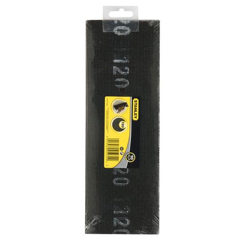 Stanley STHT0-05930 Sanding Screen K120 300mm x 105mm (10 Pack) - 1