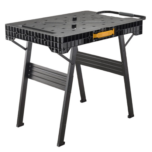 Stanley FMST1-75672 Fatmax Express Folding Workbench (85x60 cm work surface) - 455kg capacity - 10