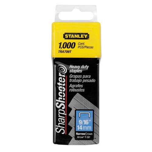 Buy Stanley 1-TRA709T heavy-duty staple 14mm (1000) at Toolstop