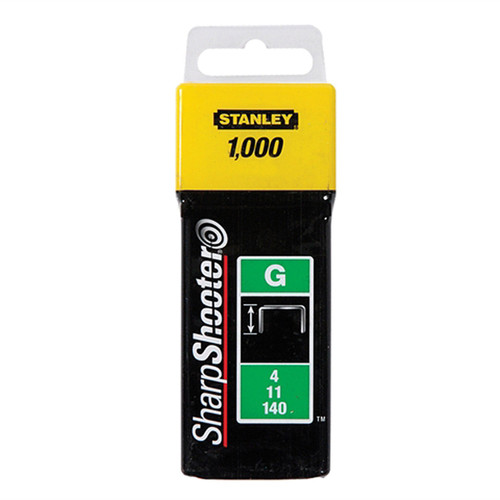 Buy Stanley 1-TRA706T Heavy-Duty Staple 10mm (1000) at Toolstop