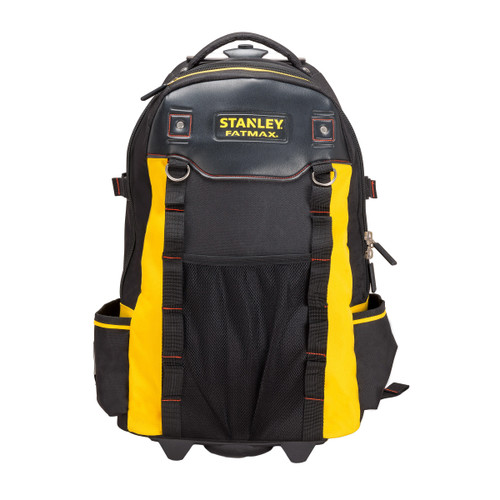 Stanley 1-79-215 FatMax Backpack Toolbag on Wheels with Telescopic Handle and Laptop Compartment - 6