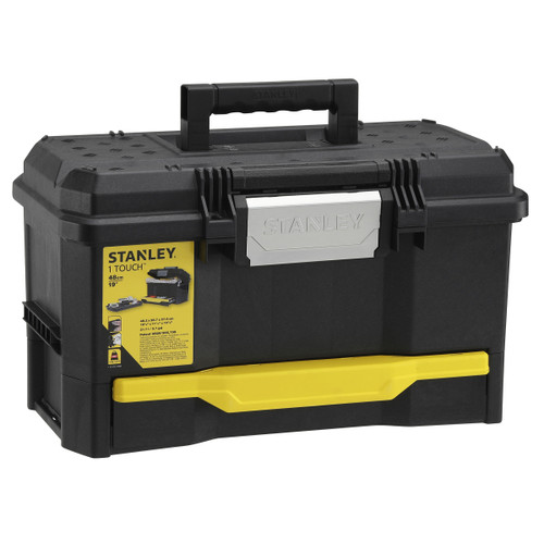 Stanley 1-70-316 One Touch Toolbox 19in With Drawer - 5