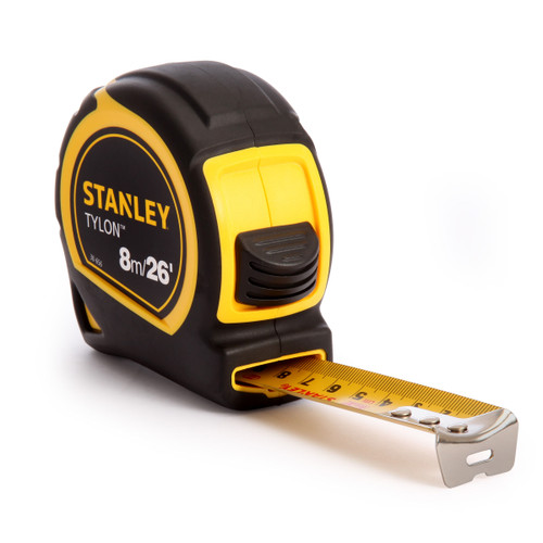 Stanley 1-30-656 Metric/Imperial Tape Measure with 25mm Blade 8m / 26ft  - 4