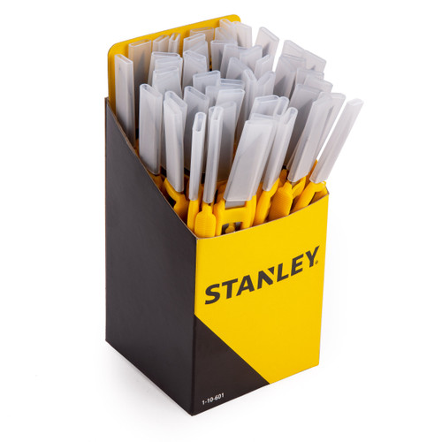 Buy Stanley 1-10-601 Box of 50 Disposable Throwaway Knife at Toolstop
