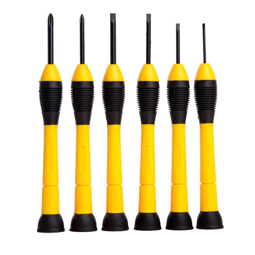 Stanley 0-66-052 Precision Instrument Screwdriver Set (6 Piece) - 3