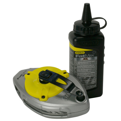 Buy Stanley 0-47-488 FatMax Extreme Reel & Chalk for GBP15 at Toolstop