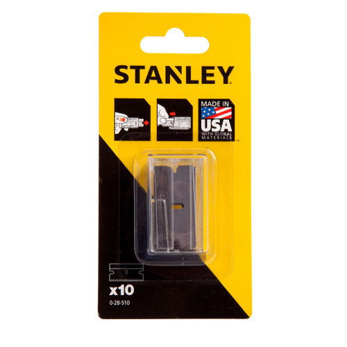Stanley 0-28-510 Replacement Blades for 0-28-500 Scraper (Pack of 10) - 2