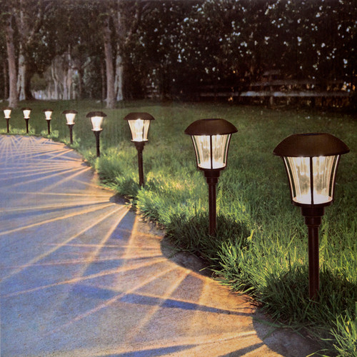 Alpan SmartYard LED Solar Pathway Lights (Pack of 8) - 2