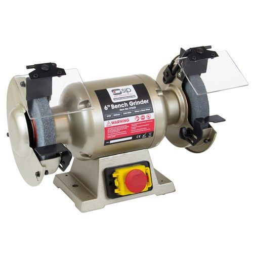 "Buy SIP 07625 Professional Bench Grinder 6"" at Toolstop"