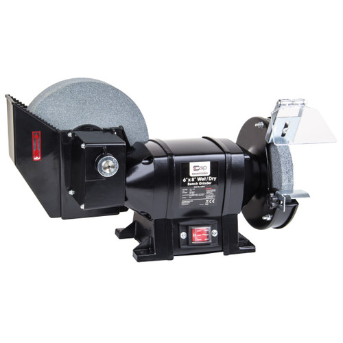 """Buy SIP 07576 Wet/Dry Bench Grinder 8"""" x 6"""" at Toolstop"""