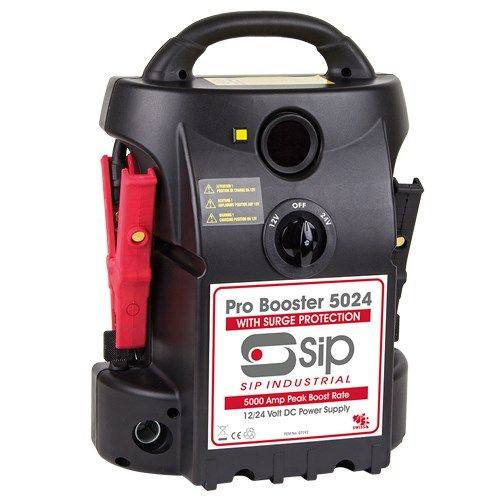 Buy SIP 07192 Pro Booster 5024 Booster Pack (12V/24V)  at Toolstop