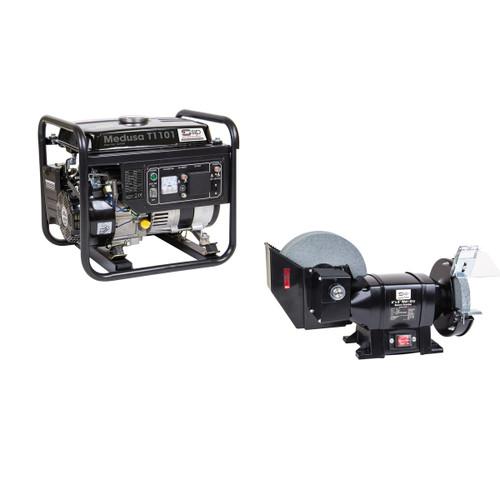 SIP 03955SUM17 Medusa T1101 Generator & 07576 Wet & Dry Grinder - 2