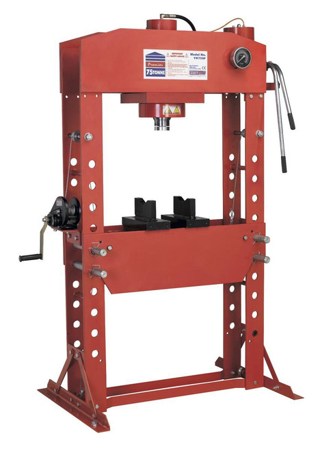 Buy Sealey YK759F Hydraulic Press 75tonne Floor Type at Toolstop