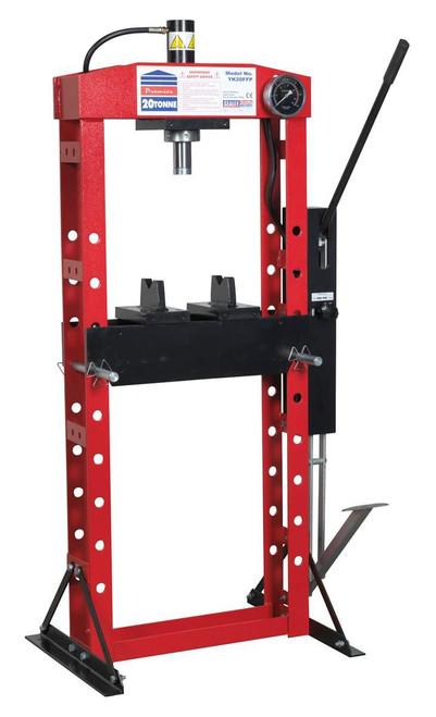 Buy Sealey YK20FFP Hydraulic Press Premier 20tonne Floor Type With Foot Pedal at Toolstop