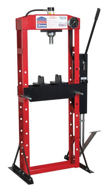 Buy Sealey YK15FFP Hydraulic Press Premier 15tonne Floor Type With Foot Pedal at Toolstop