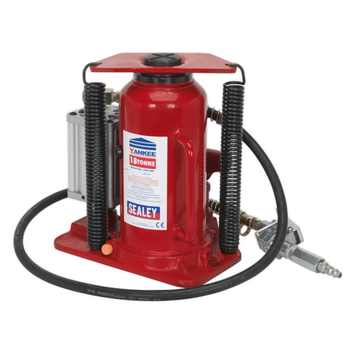 Buy Sealey YAJ18S Air Operated Bottle Jack 18tonne at Toolstop