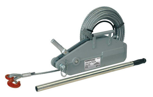 Buy Sealey WRP1600 Wire Rope Puller 1600kg Max Line Force at Toolstop