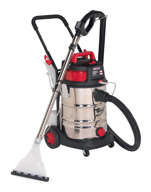 Buy Sealey VMA915 Valet Machine Wet & Dry 30L Stainless Bin 240V 1500W at Toolstop