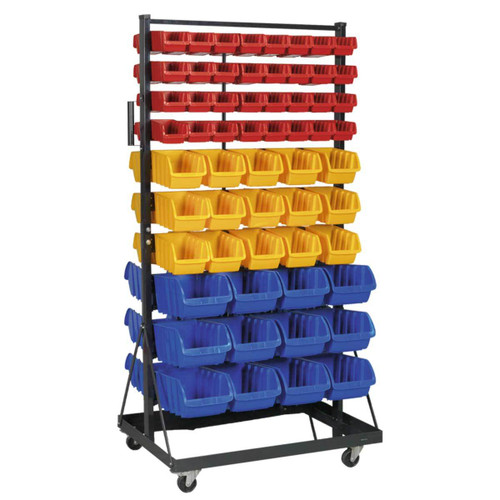 Buy Sealey TPS118 Mobile Bin Storage System 118 Bin at Toolstop