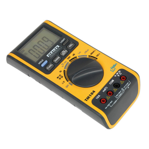 Buy Sealey TM104 Digital Multimeter 5-in-1 at Toolstop