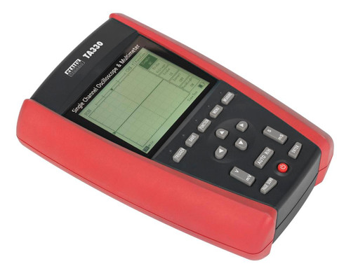Buy Sealey TA330 Hand-held Automotive Single Channel Oscilloscope & Multimeter at Toolstop