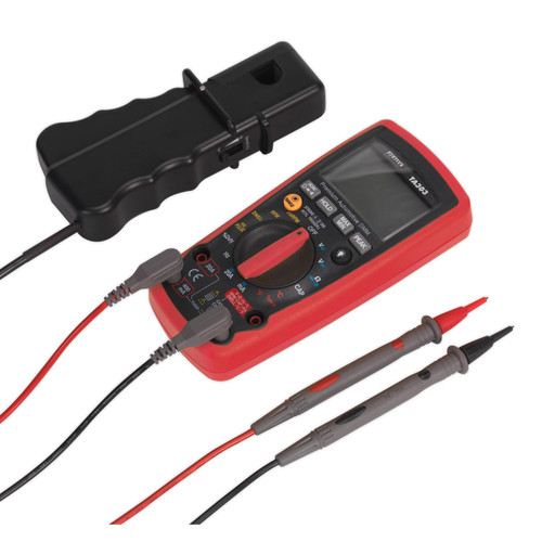 Buy Sealey TA303 Digital Automotive Analyser 14 Function With IC at Toolstop