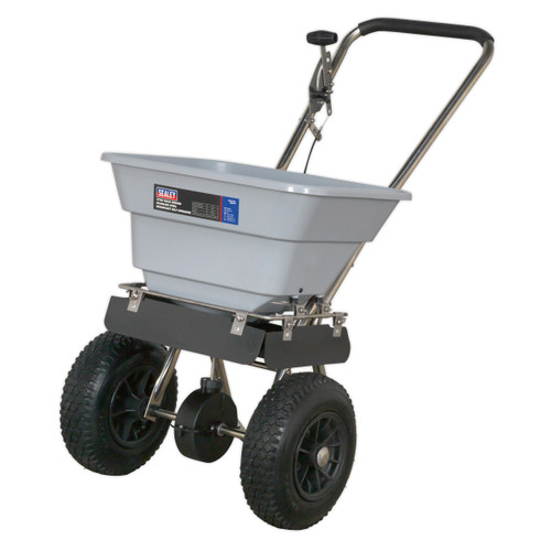 Buy Sealey SSB37W Stainless Steel Broadcast Salt Spreader 37kg Walk Behind at Toolstop