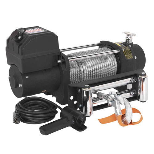Buy Sealey SRW5450 Self Recovery Winch 5450kg Line Pull 12v at Toolstop