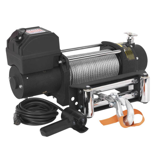 Buy Sealey SRW2720 Self Recovery Winch 2720kg Line Pull 12V at Toolstop