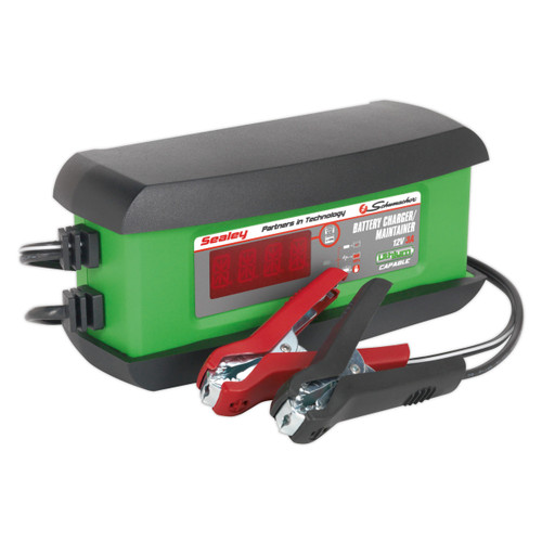 Buy Sealey SPI3S Intelligent Lithium Battery Charger 3amp 12v at Toolstop