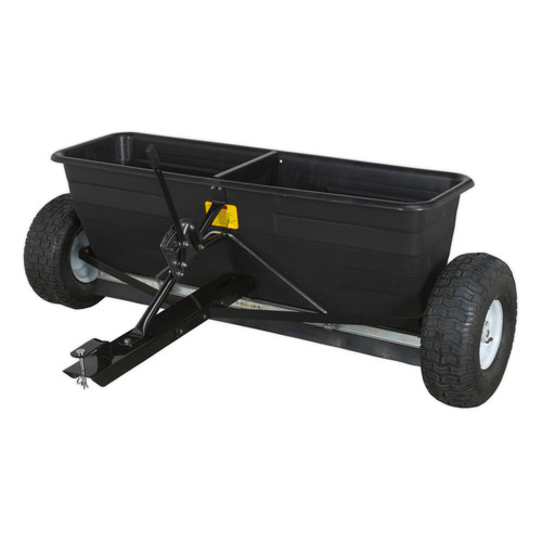 Buy Sealey SPD80T Drop Spreader 80kg Tow Behind at Toolstop