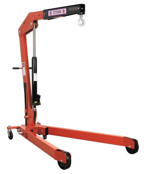 Buy Sealey SPC2000 Folding Crane 2tonne at Toolstop