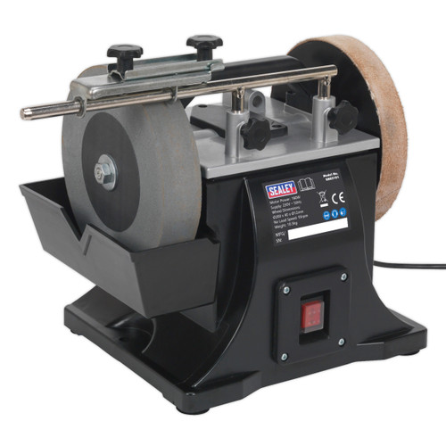 Buy Sealey SMS2101 Sharpener ∅200mm With Honing Wheel at Toolstop