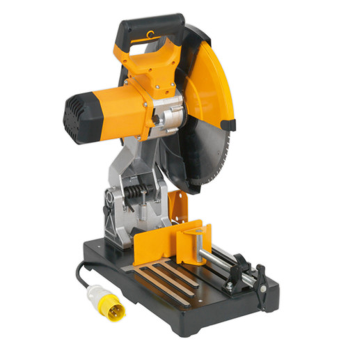 Buy Sealey SM355D110V Portable Abrasive Disc Cut-off Saw 355mm 110v at Toolstop