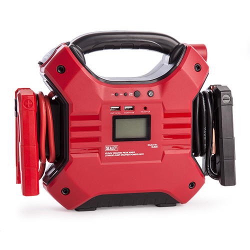Sealey SL32S Jump Starter Power Pack Lithium Iron Phosphate 12/24V 1200/600A - 3