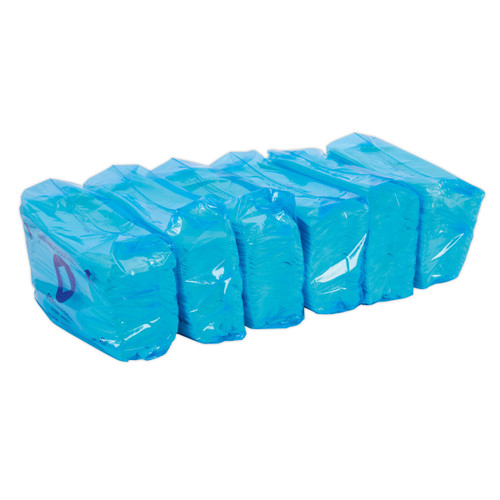 Buy Sealey SCP160RF Multipurpose Paper Wipe Refills - Creped Turquoise 69gsm Sheets 80 Pack Of 6 at Toolstop