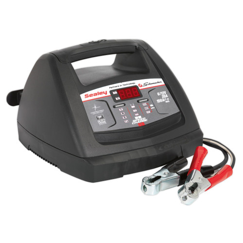 Buy Sealey SCI90S Starter 150amp/intelligent Speed Charge Battery Charger 20amp 6/12v at Toolstop
