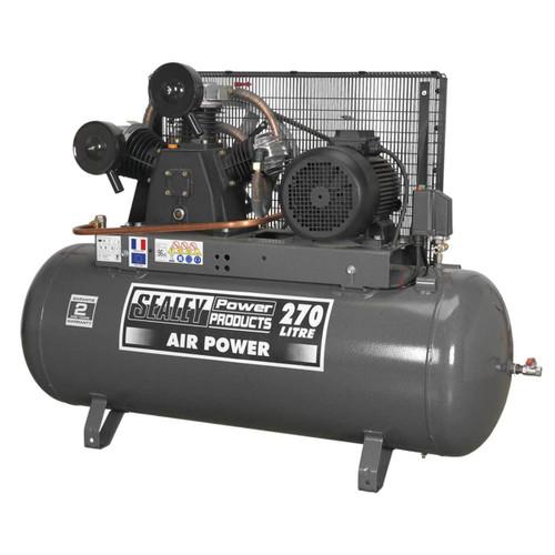 Buy Sealey SAC32775B Compressor 270ltr Belt Drive 7.5hp at Toolstop