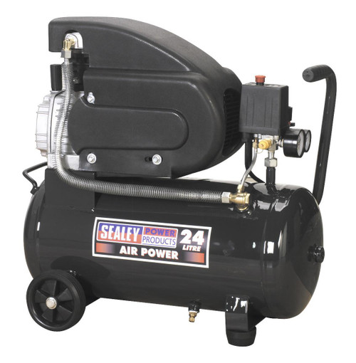 Buy Sealey SAC2420E Compressor 24ltr Direct Drive 2hp at Toolstop