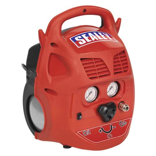 Buy Sealey SAC106B Compressor 6ltr Belt Drive 1.5hp Oil Free at Toolstop