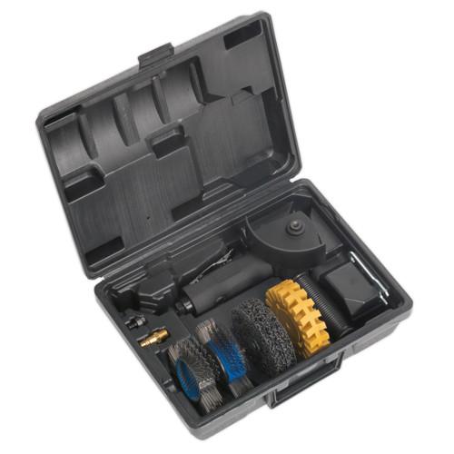 Buy Sealey SA695 Smart Eraser Air Tool Kit 4pc at Toolstop