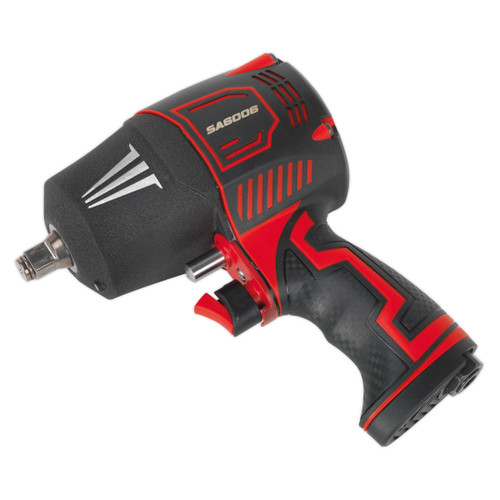 "Buy Sealey SA6006 Composite Air Impact Wrench 1/2""sq Drive Twin Hammer at Toolstop"