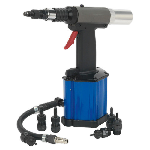 Buy Sealey SA317 Air/Hydraulic Nut Riveter Heavy-Duty Vacuum System at Toolstop