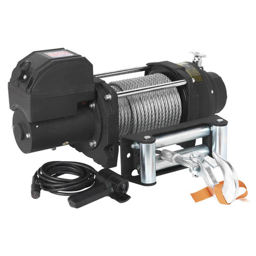 Buy Sealey RW5675 Recovery Winch 5675kg Line Pull 12v Industrial at Toolstop