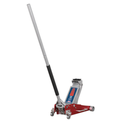 Sealey RJAS2500 Trolley Jack 2.5 Tonne Aluminium/Steel Rocket Lift - 4