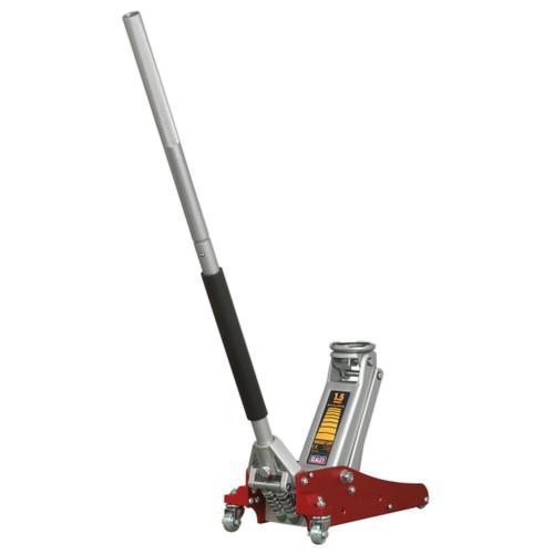 Buy Sealey RJAS1500 Trolley Jack 1.5tonne Aluminium/Steel Rocket Lift at Toolstop