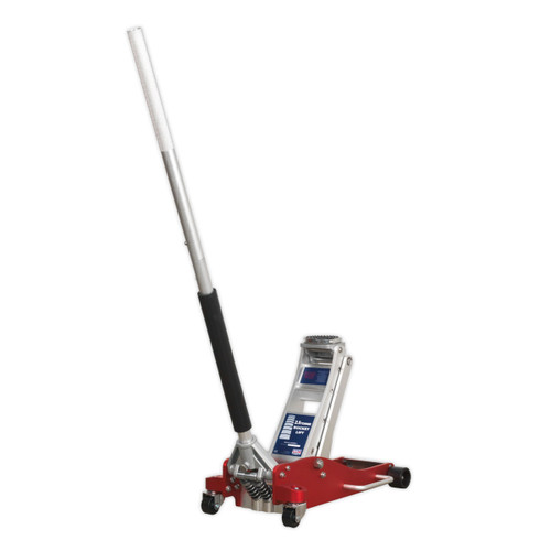 Buy Sealey RJA2500 Trolley Jack 2.5tonne Low Entry Aluminium Rocket Lift at Toolstop