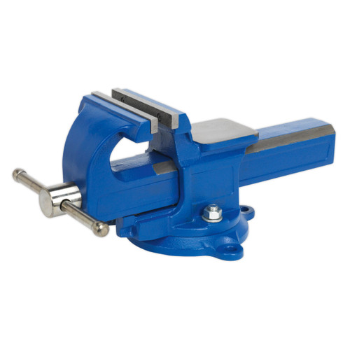 Buy Sealey QAVE125 Vice 125mm Quick Action Swivel Base Sg Iron at Toolstop